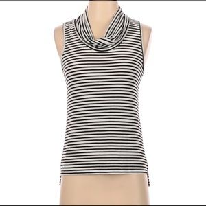 W5 S Striped Sleeveless Top